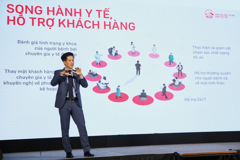 AIA cùng Medix giới thiệu Dịch vụ Tư vấn và Quản trị Bệnh án Cá nhân tại Việt Nam Song Hành Y Tế